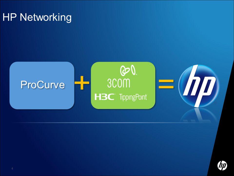 + + = HP Networking ProCurve Материал HP ограниченного распространения