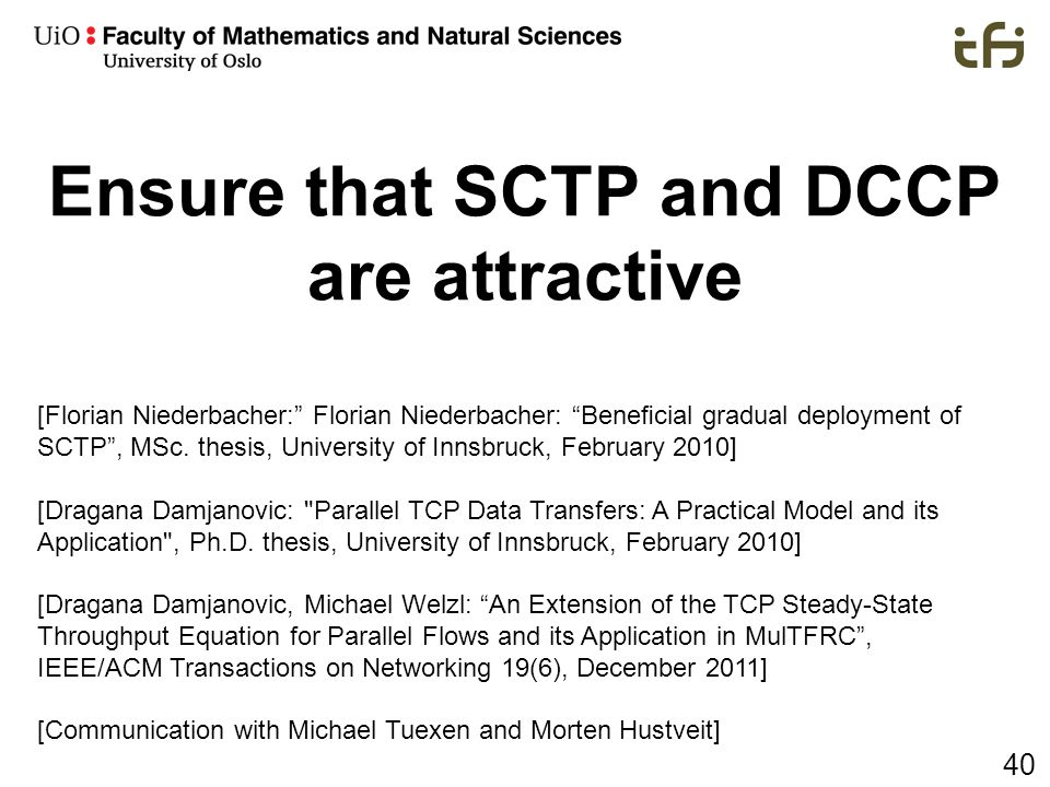 Ensure that SCTP and DCCP are attractive