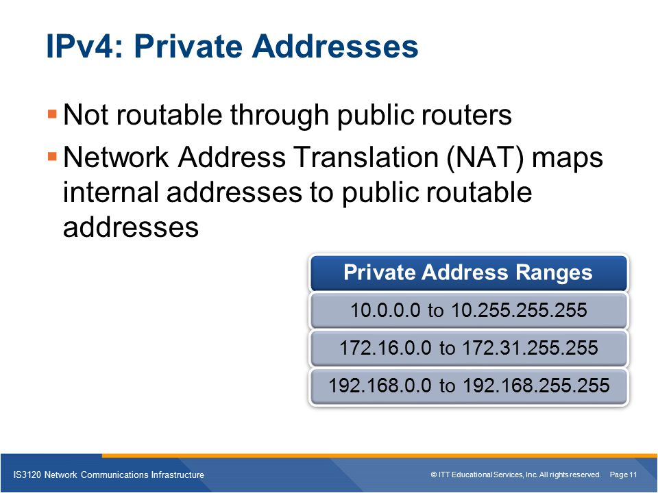how to make private ip address public
