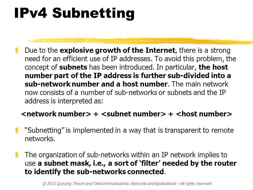 <network number> + <subnet number> + <host number>