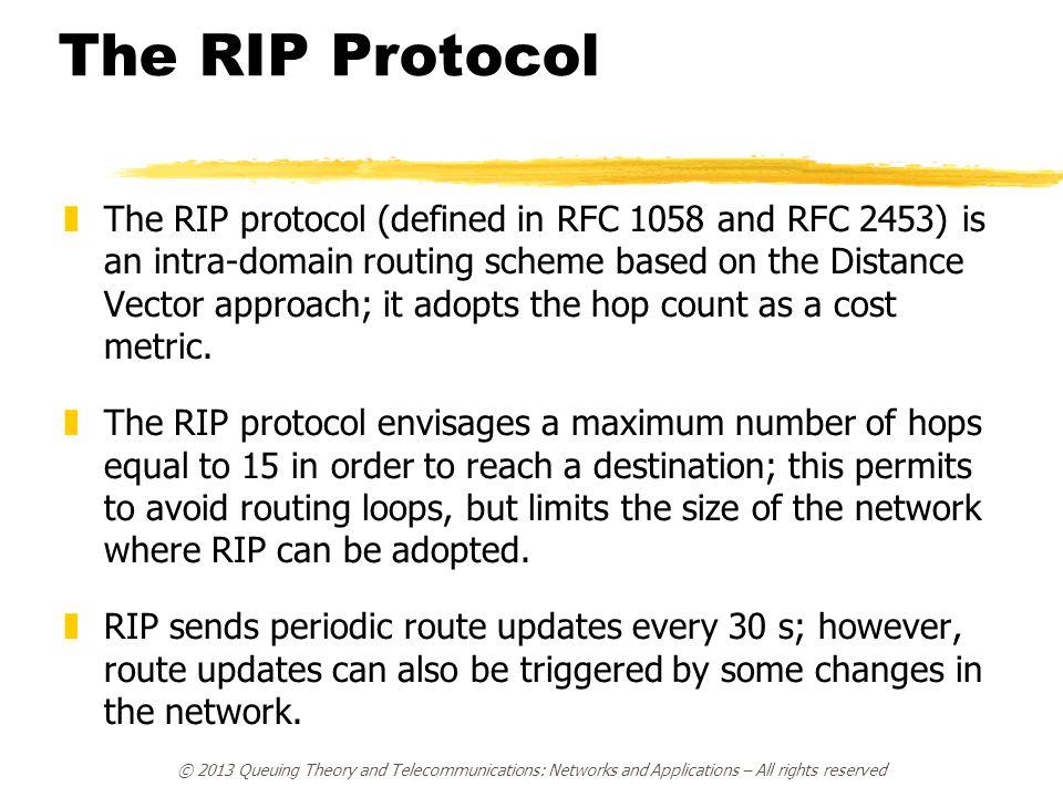 The RIP Protocol