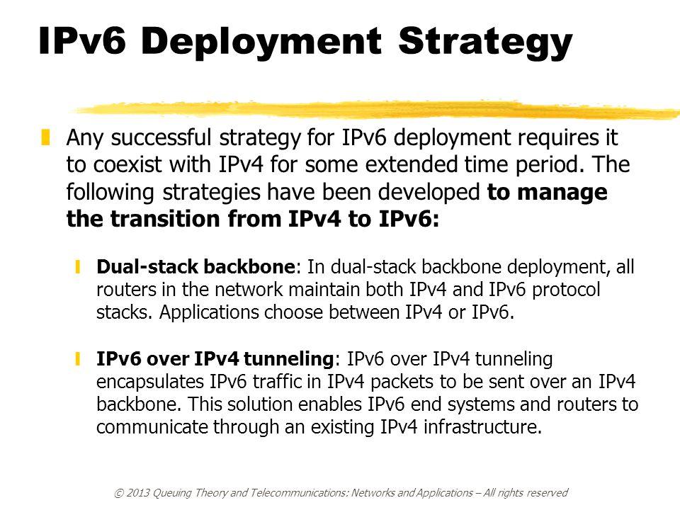 IPv6 Deployment Strategy