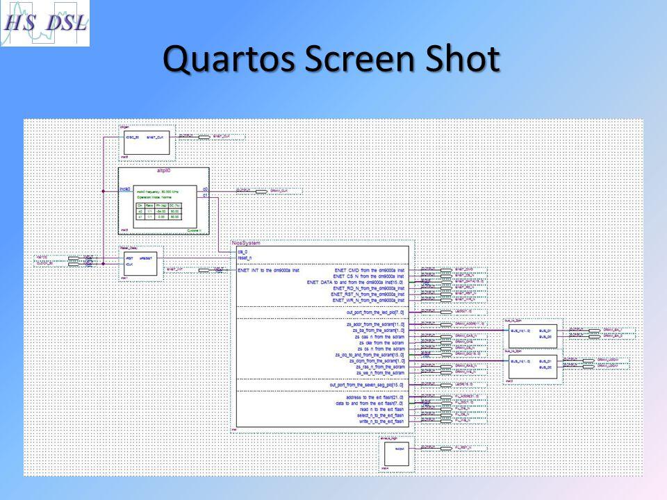 Quartos Screen Shot