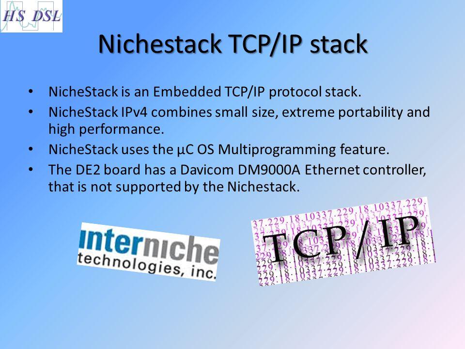 Nichestack TCP/IP stack