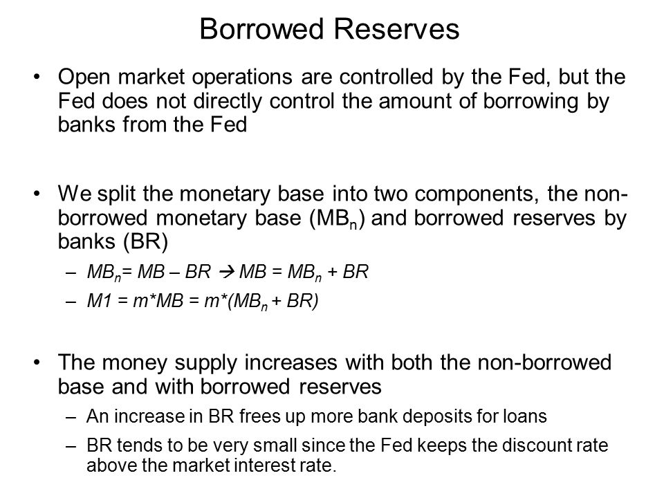 Borrowed Reserves