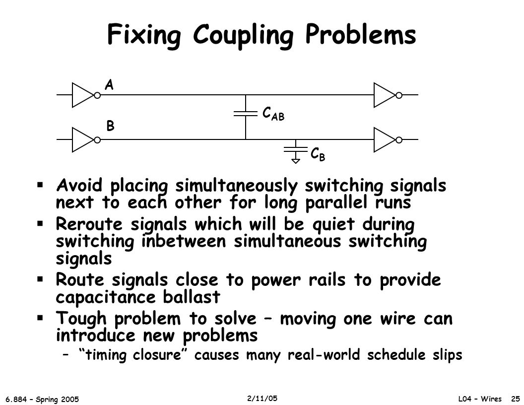 Fixing Coupling Problems