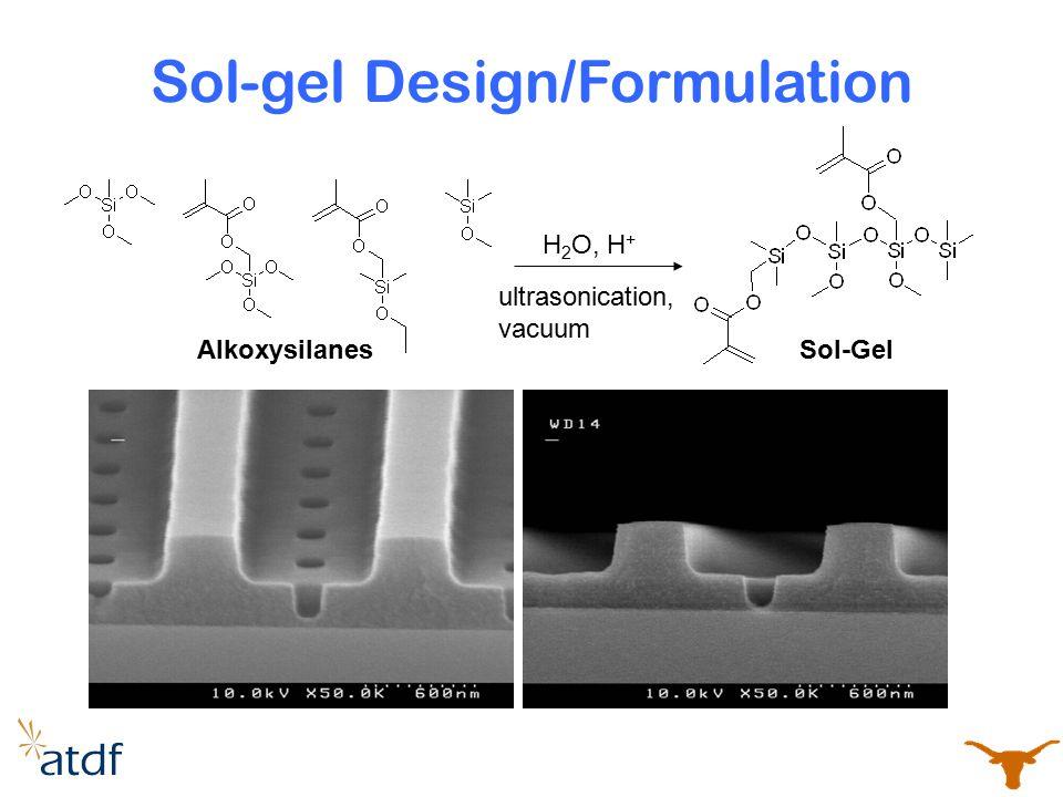 Sol-gel Design/Formulation