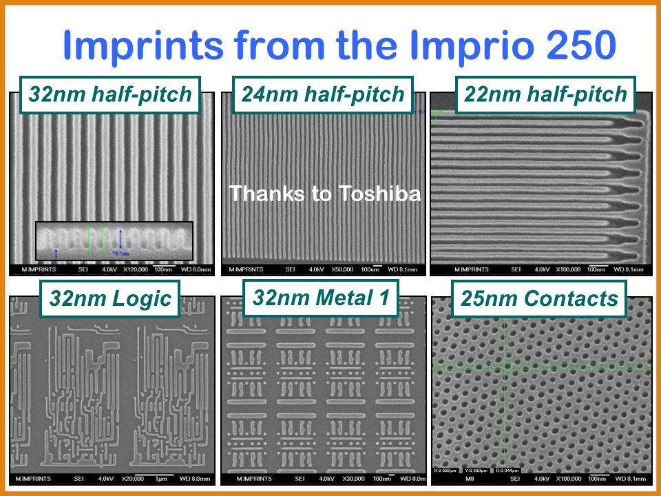 Imprints from the Imprio 250