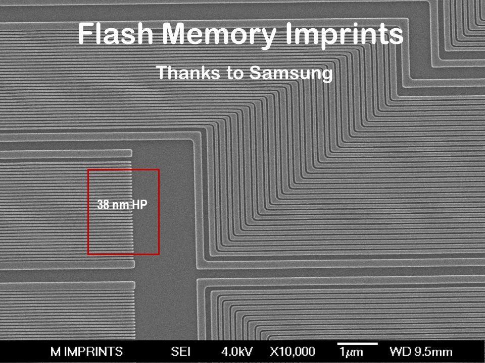 Flash Memory Imprints Thanks to Samsung