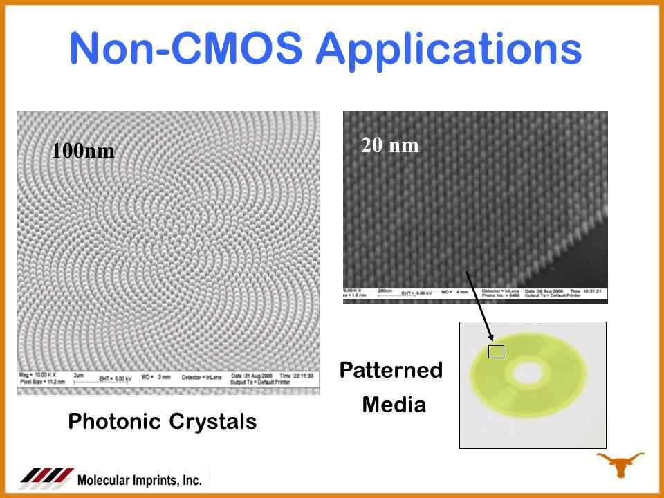 Non-CMOS Applications