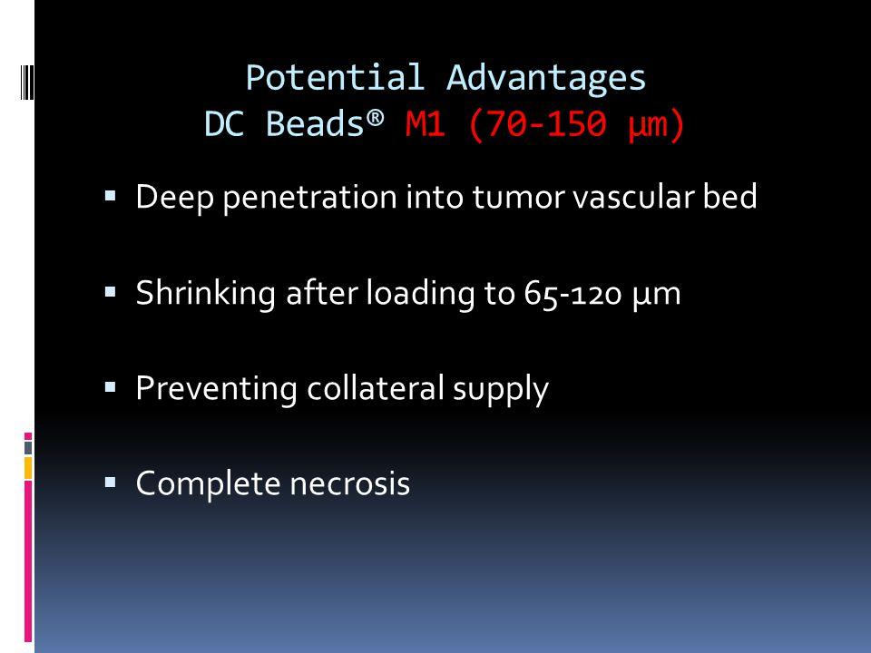 Potential Advantages DC Beads® M1 (70-150 µm)