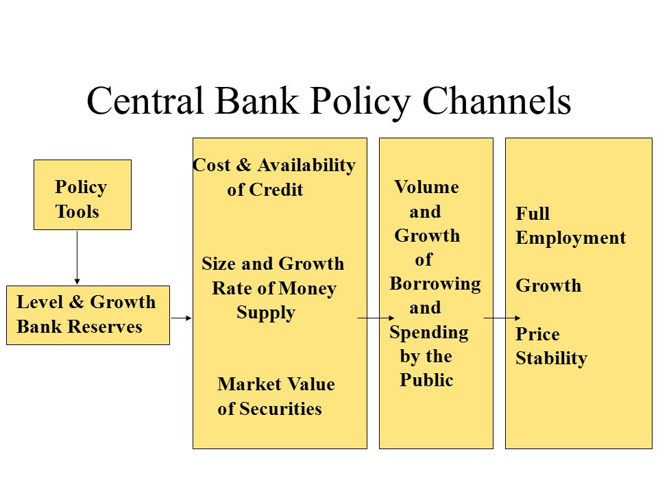 Central Bank Policy Channels