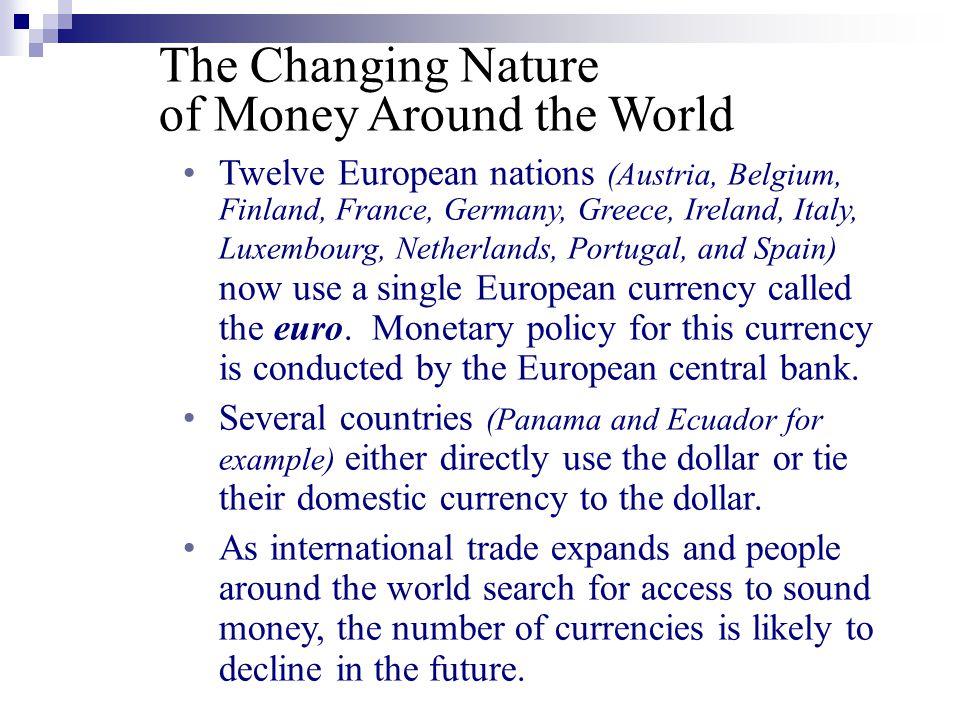 of Money Around the World