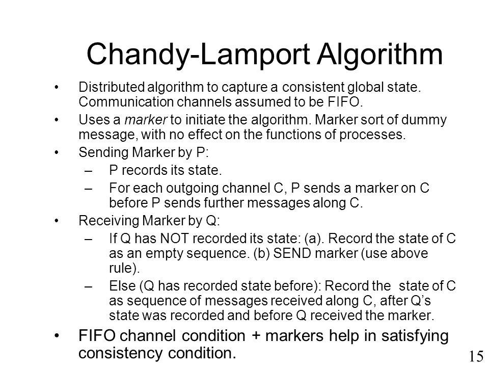Chandy-Lamport Algorithm