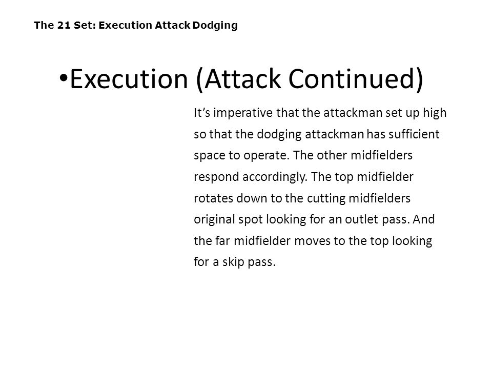 Execution (Attack Continued)