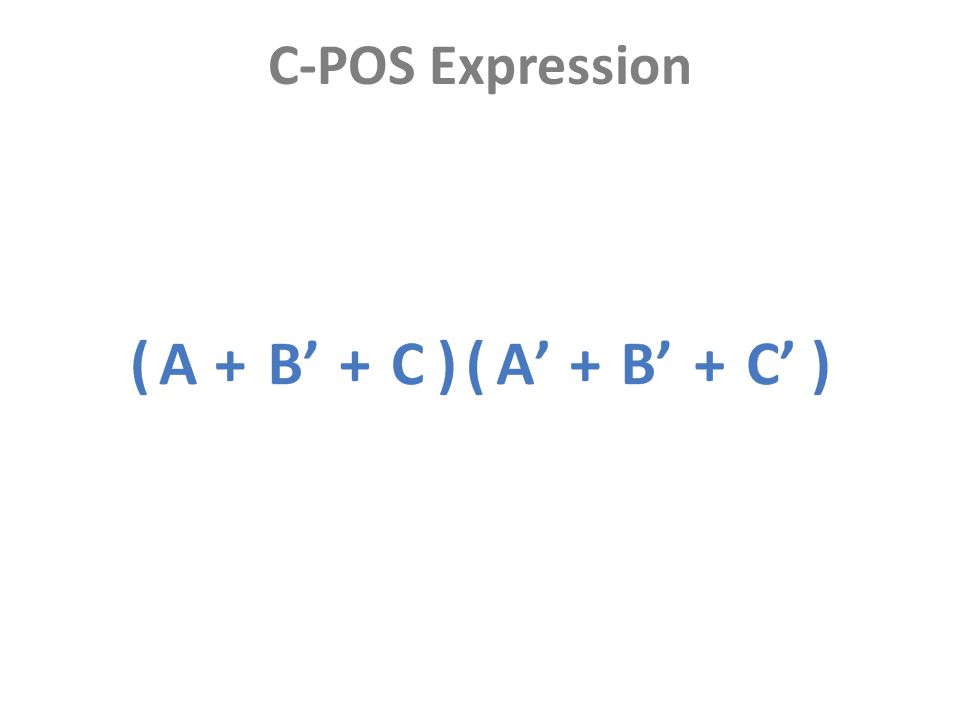 C-POS Expression