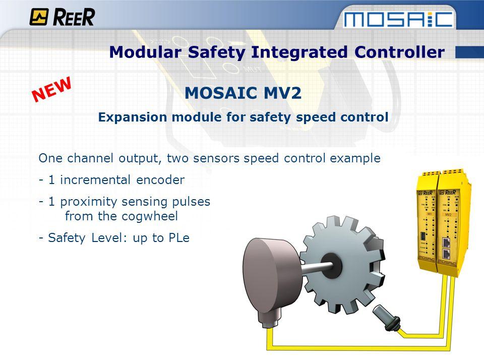 Modular Safety Integrated Controller MOSAIC MV2
