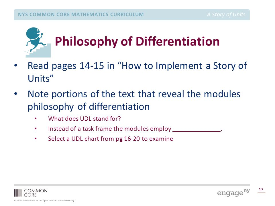 Philosophy of Differentiation