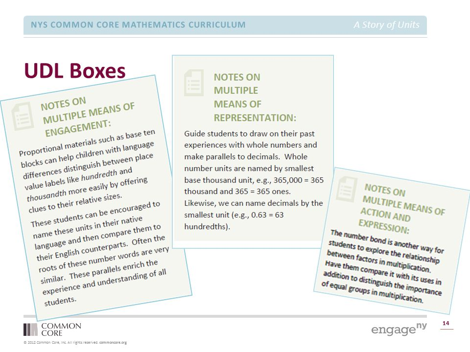 UDL Boxes