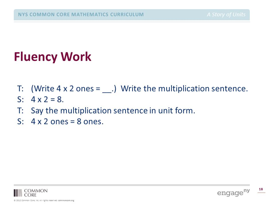 Module 1 Overview Fluency Work.