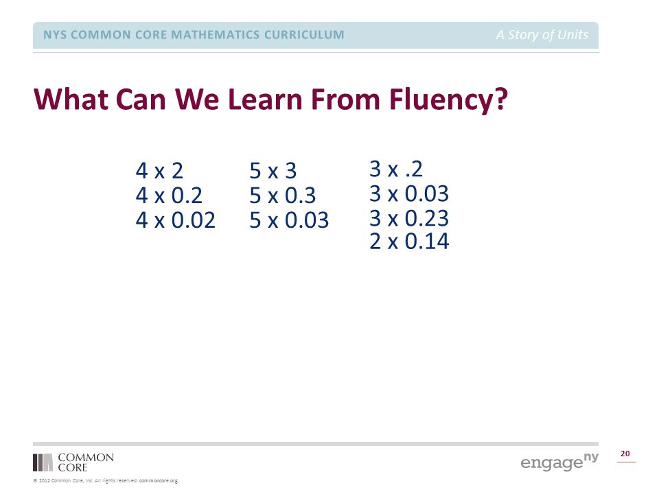 What Can We Learn From Fluency