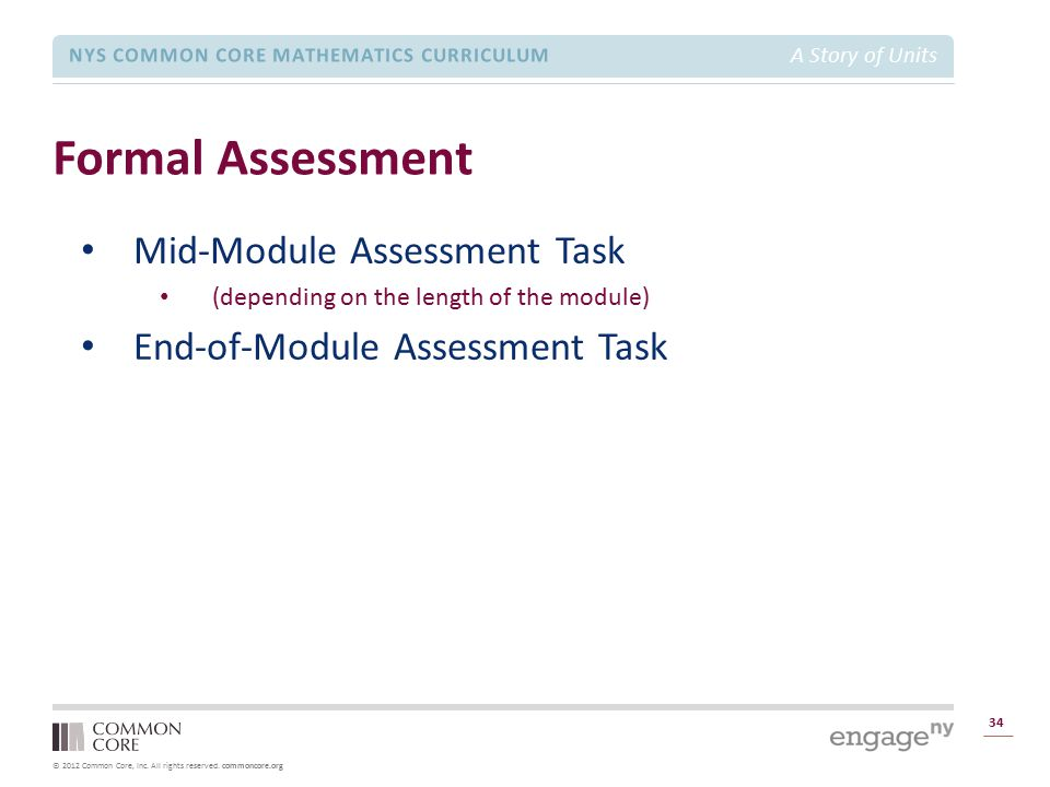 Formal Assessment Mid-Module Assessment Task