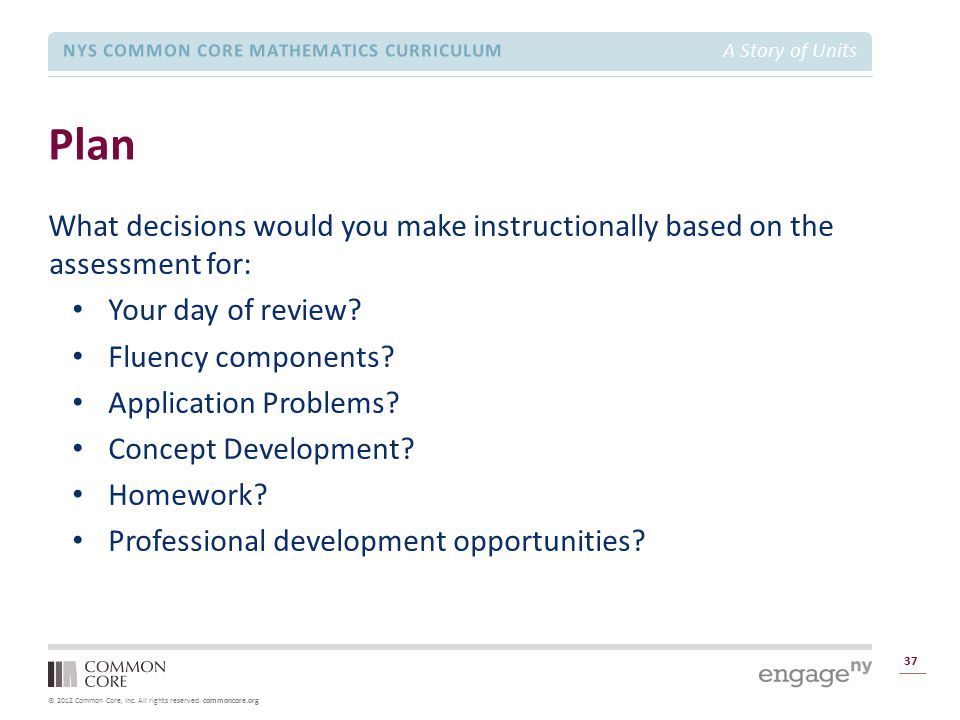 Module 1 Overview Plan. What decisions would you make instructionally based on the assessment for: