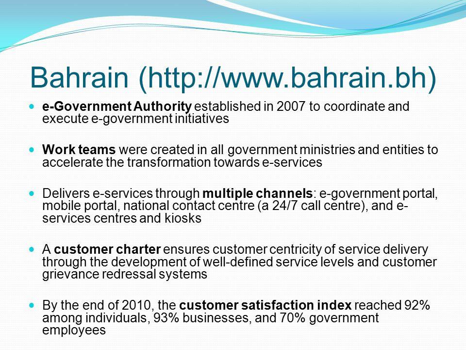 Bahrain (http://www.bahrain.bh)