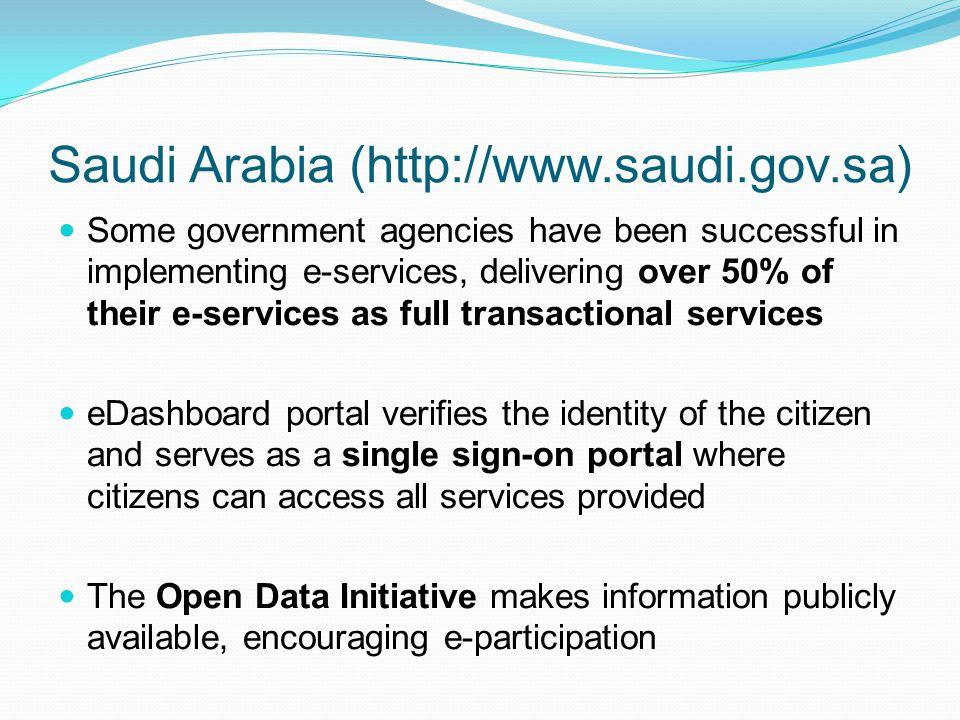Saudi Arabia (http://www.saudi.gov.sa)