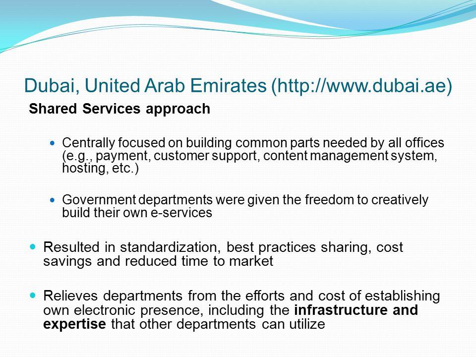 Dubai, United Arab Emirates (http://www.dubai.ae)