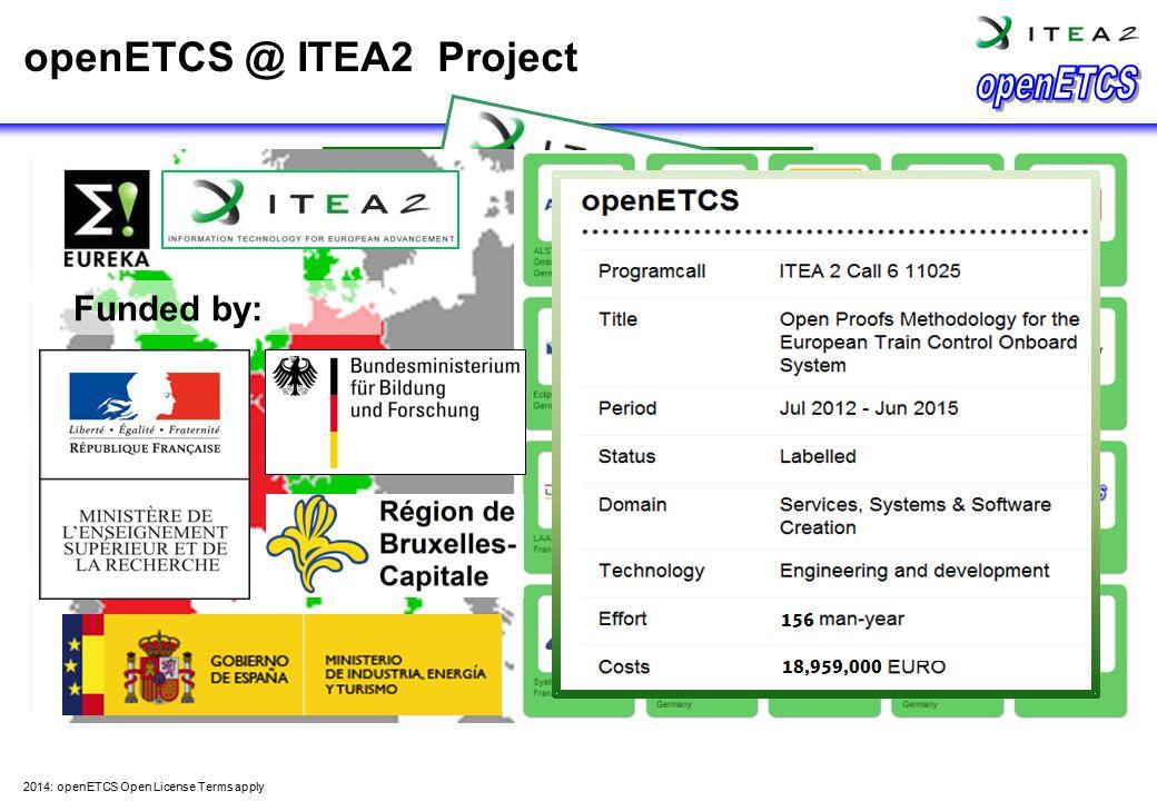 openETCS @ ITEA2 Project
