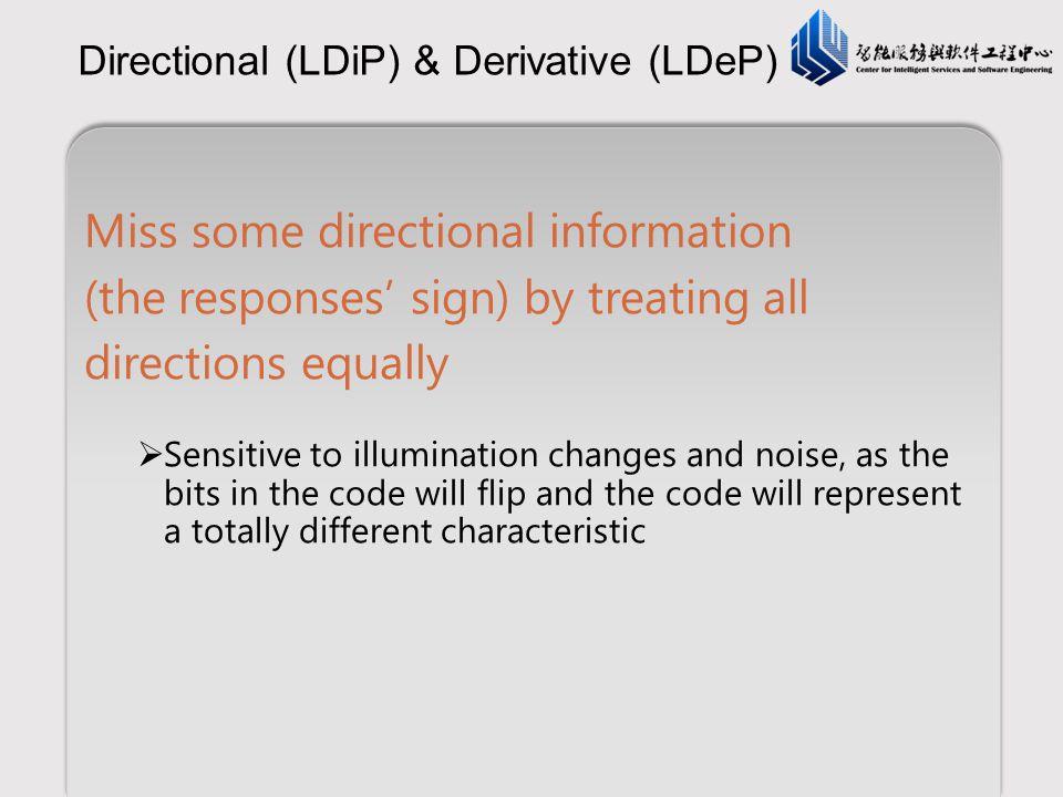 Directional (LDiP) & Derivative (LDeP)