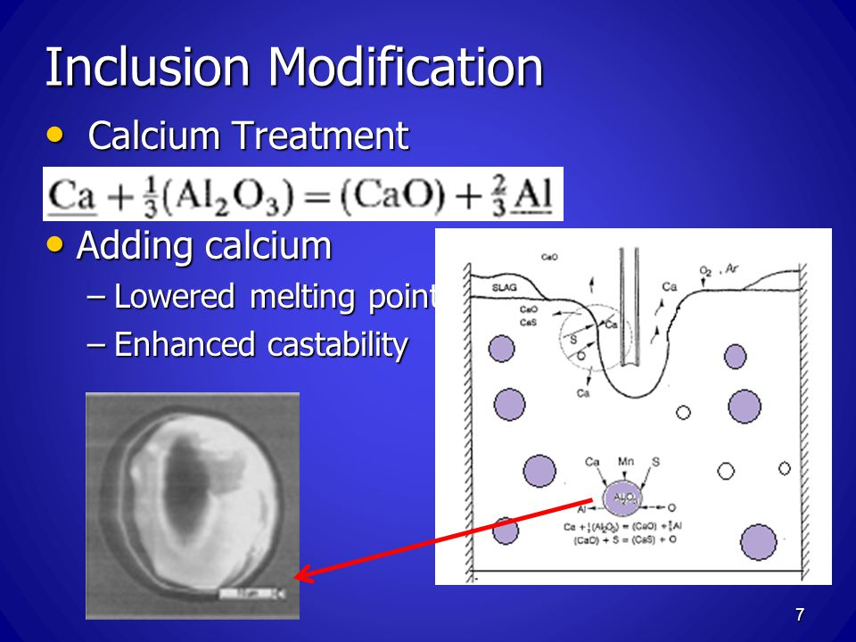 Inclusion Modification