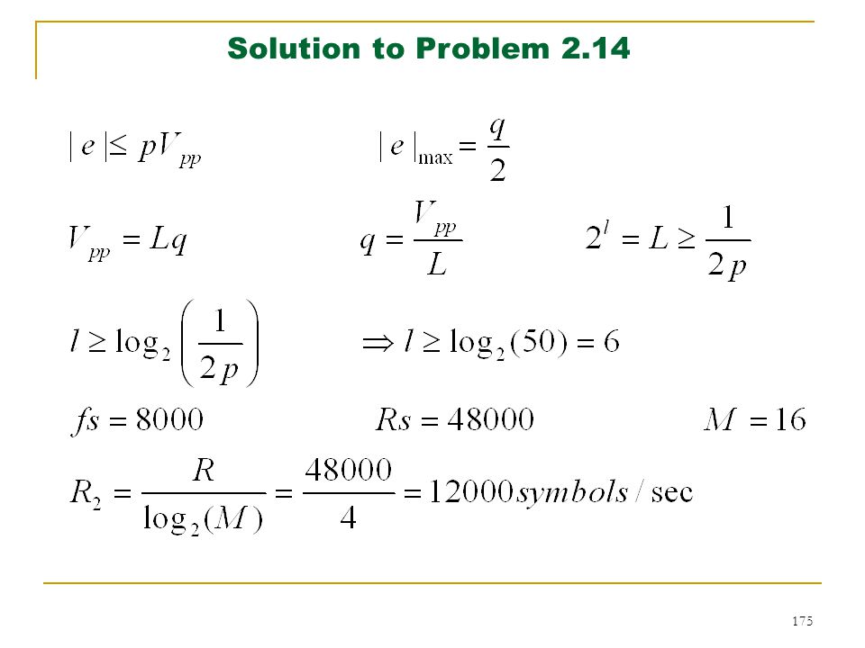 Solution to Problem 2.14