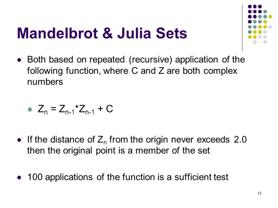 Mandelbrot & Julia Sets