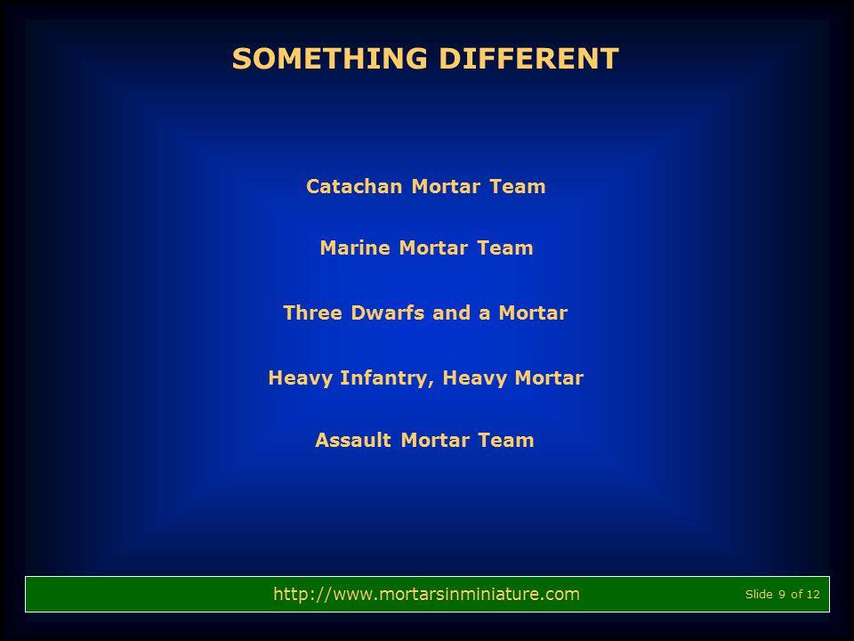 SOMETHING DIFFERENT Catachan Mortar Team Marine Mortar Team