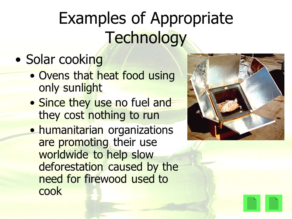 Sustainable development ppt video online download Examples of green technology