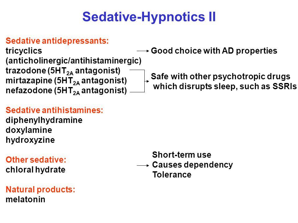 Sedative-Hypnotics II