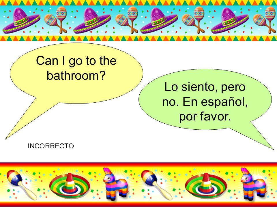 Lo siento, pero no. En español, por favor.