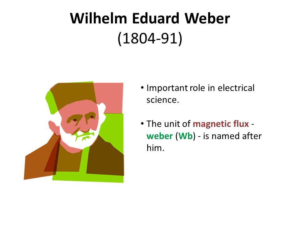 Wilhelm Eduard Weber (1804-91)