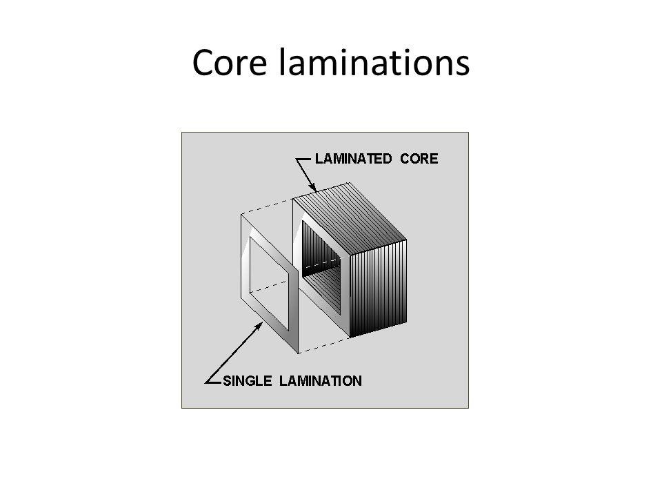 Core laminations