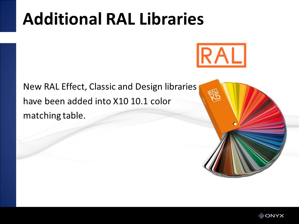 Additional RAL Libraries