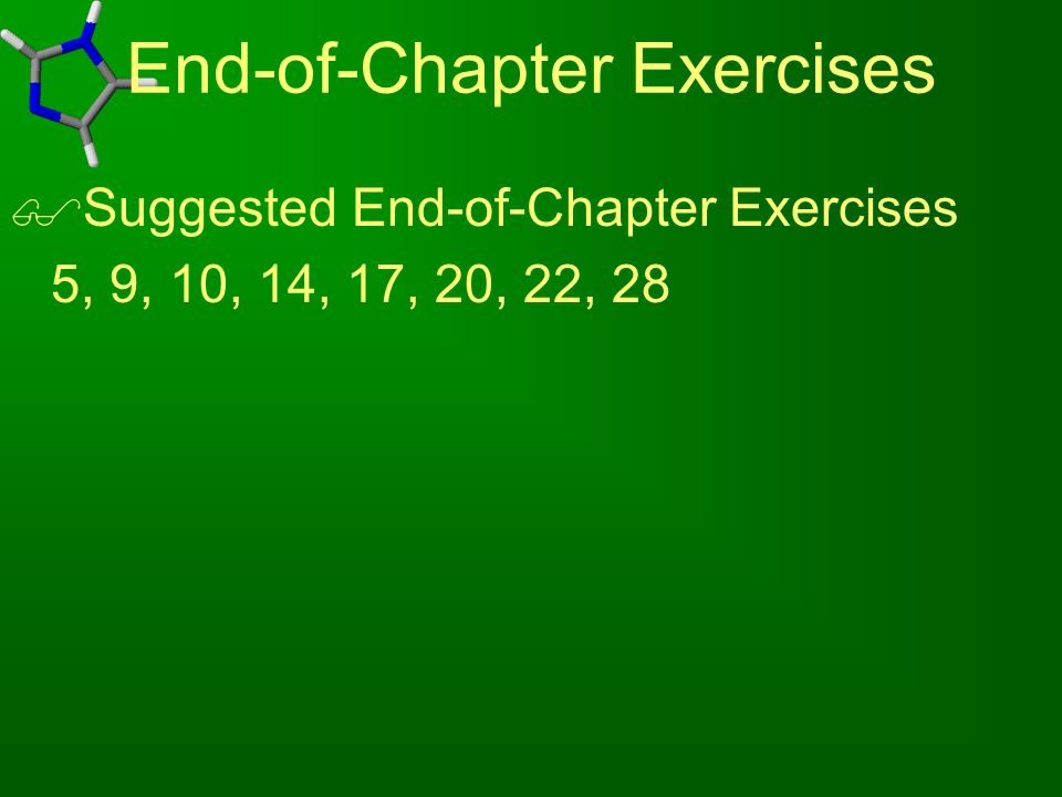 End-of-Chapter Exercises