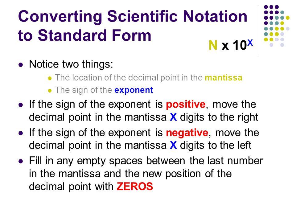 Scientific Notation Ppt Video Online Download
