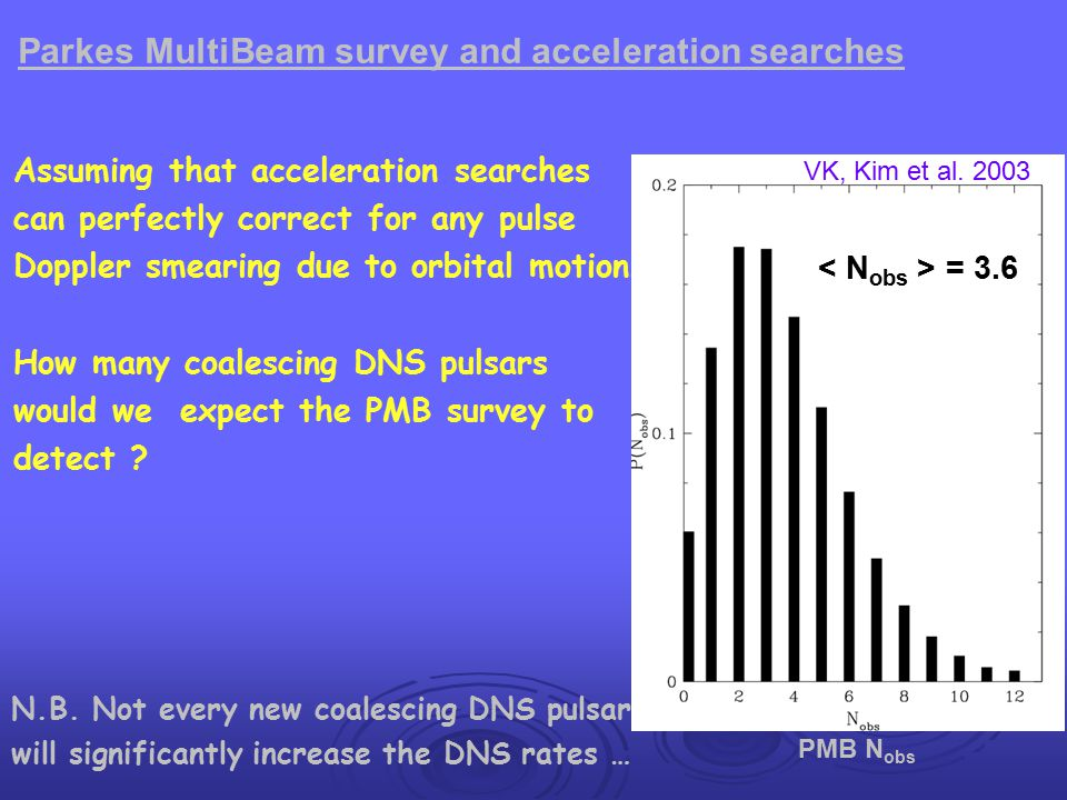 Parkes MultiBeam survey and acceleration searches