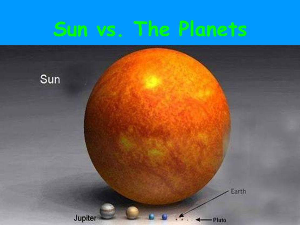 Sun vs. The Planets