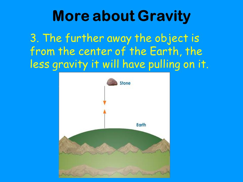 More about Gravity 3.