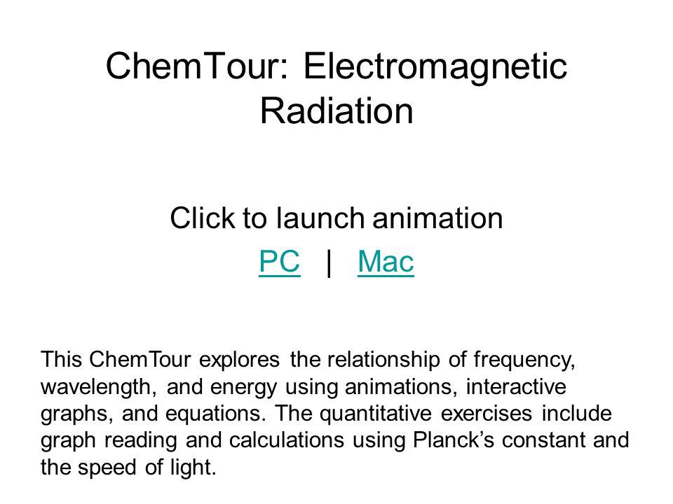 ChemTour: Electromagnetic Radiation