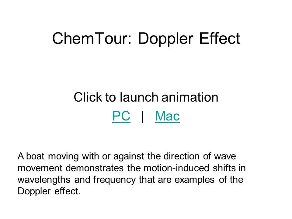 ChemTour: Doppler Effect