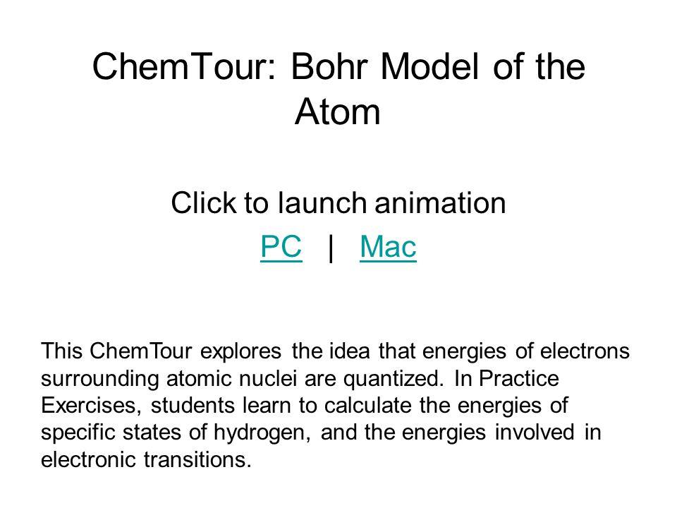 ChemTour: Bohr Model of the Atom